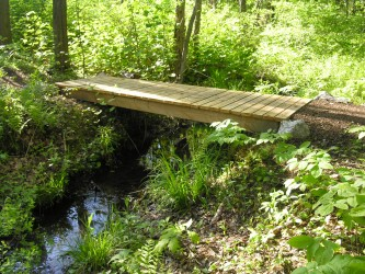Bridge at Canco Woods