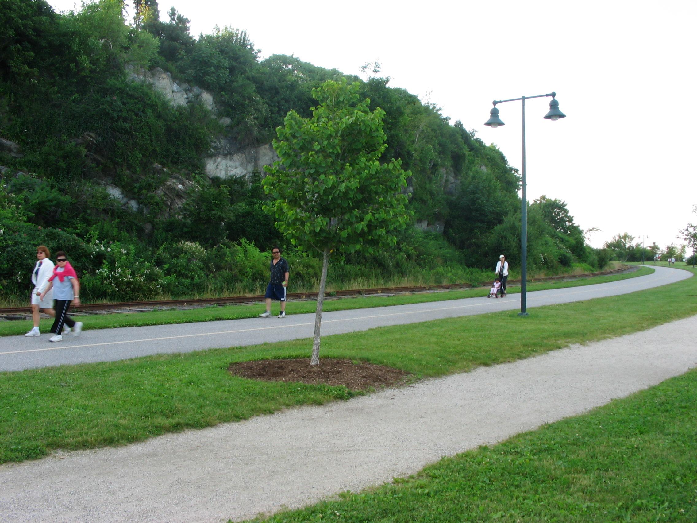 Greening Of Southwest Bike Path >> Eastern Promenade Trail