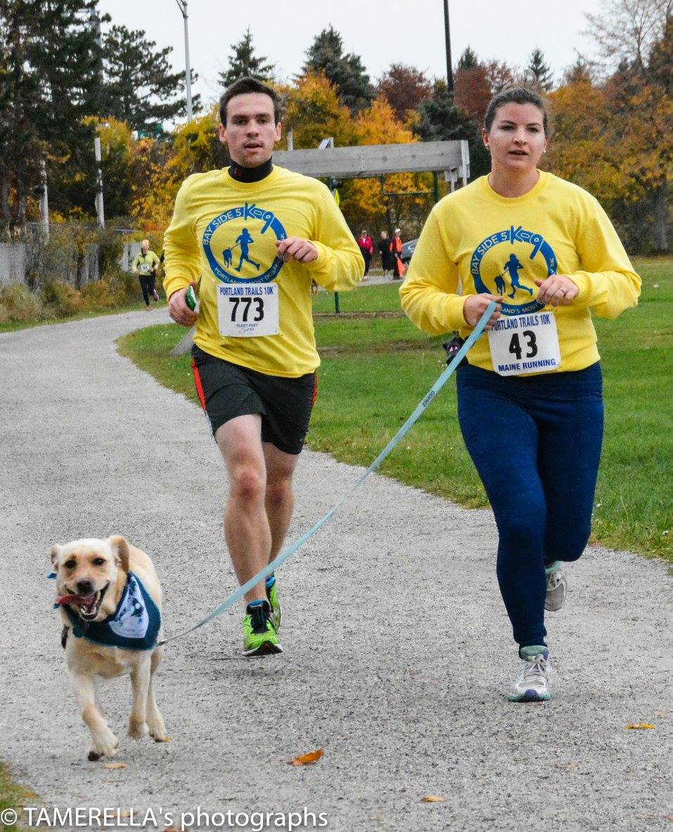 Run with your dog at the Bayside 5K-9 (Maine Today)