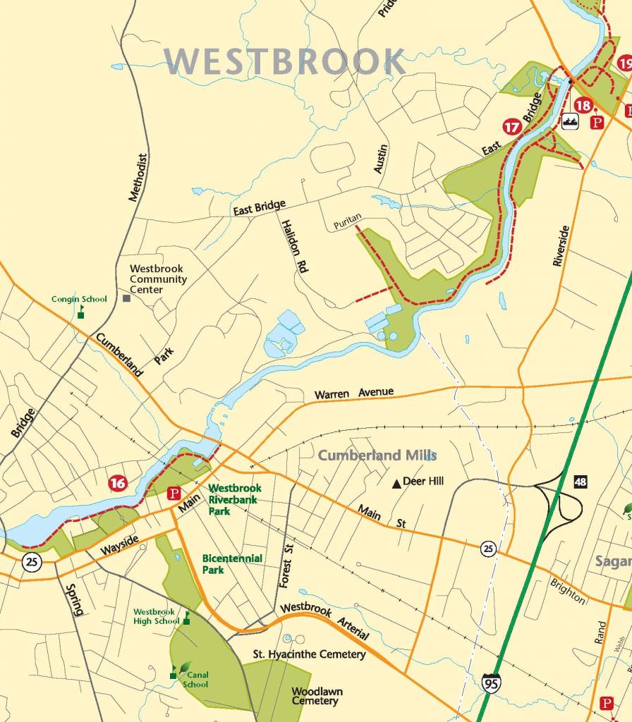 Westbrook River Walk Portland Trails